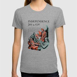 July 4, 1776 - Lend A Dime For War Savings Stamps T-shirt
