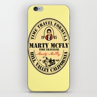 marty mcfly iPhone & iPod Skins featuring Marty McFly by SuperEdu