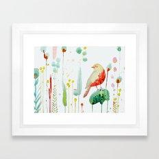 le voyageur Framed Art Print