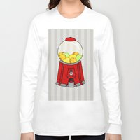 gumball Long Sleeve T-shirts featuring Gumball Machine. by Bedelia June
