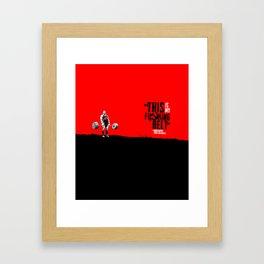 IRON&EMOTION Konstantin Konstantinovs Framed Art Print