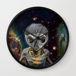 Zedd Centauri Wall Clock