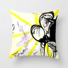 Loop City Throw Pillow
