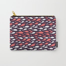 colorful fish seamless pattern design Carry-All Pouch
