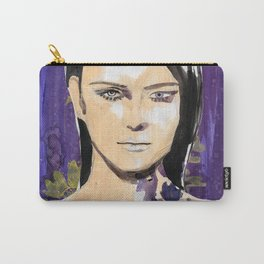 Purple beauty fashion lllustration Carry-All Pouch