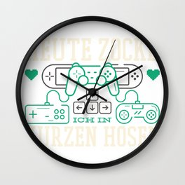 Today I have been playing in shorts Wall Clock
