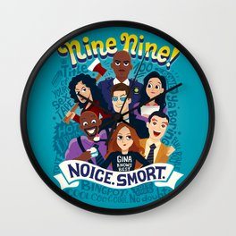 Nine Nine Wall Clock