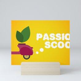 Passion Scoot Mini Art Print