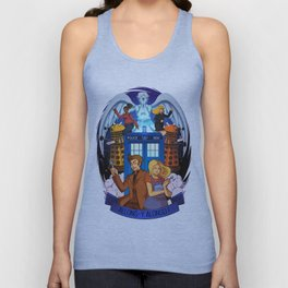 Doctor Who - Allons-y Alonso ! Unisex Tank Top