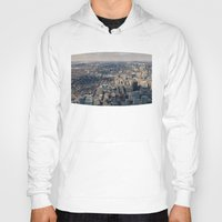 toronto Hoodies featuring Toronto by Nick De Clercq
