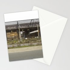 Grey Industrial Beauty Stationery Cards