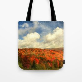 Fall in the Highlands Tote Bag