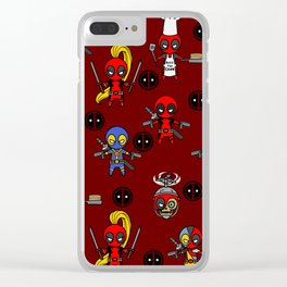 4th wall breakage blanket Clear iPhone Case