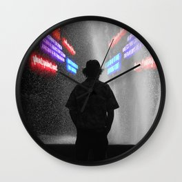 Bright Thoughts Wall Clock