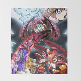 Ultra Megaman Zero Throw Blanket