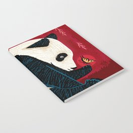 The Panda and the Butterfly Notebook