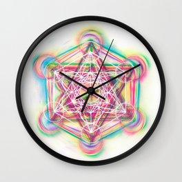 Metatron's Cube Sacred Geometry Wall Clock