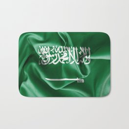 Saudi Arabia Flag Bath Mat