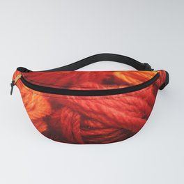 Many Balls of Wool in Shades of Red #society6 #decor #buyart Fanny Pack