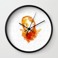 loki Wall Clocks featuring Loki by MadTee