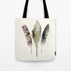 nature feathers Tote Bag