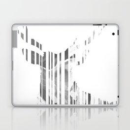 Geometric black Stag Laptop & iPad Skin