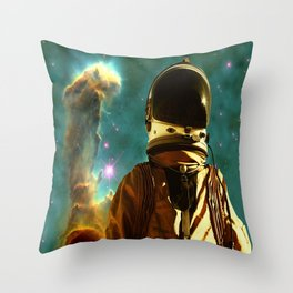 Lost in the Starmaker Throw Pillow