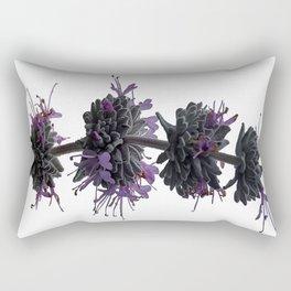 Ojai: Purple Sage Rectangular Pillow