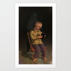 Horor Fiction Art Print