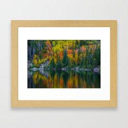 Reflections of Autumn Framed Art Print