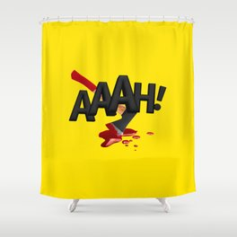ONMTP - BIG AAAH! Shower Curtain