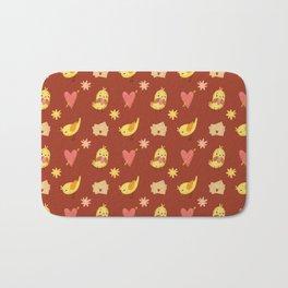 VALENTINE BIRDS Bath Mat