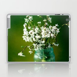 Delicate Petals Laptop & iPad Skin
