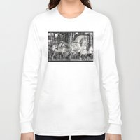 carousel Long Sleeve T-shirts featuring Carousel by Ibbanez