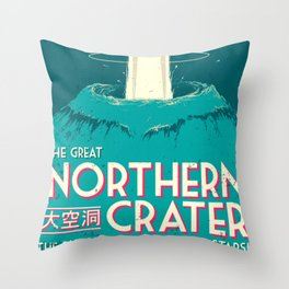 Final Fantasy VII - Great Northern Crater Throw Pillow