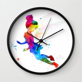 Tinker Bell, colorful Wall Clock
