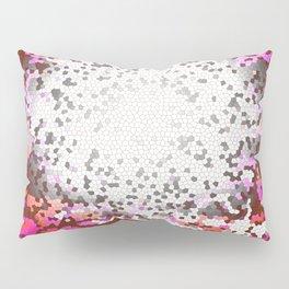 Resonance, Abstract Art Tiles Mosaic Pillow Sham