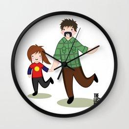The Last Of Us - Joel and Ellie Wall Clock