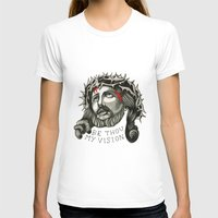 jesus T-shirts featuring Jesus by mothermary
