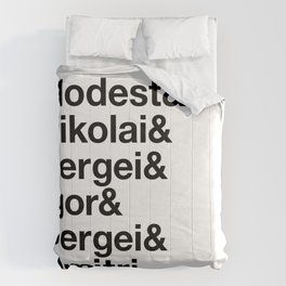 Russian Composers v2 Comforters