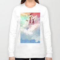 fly Long Sleeve T-shirts featuring FLY by Javier G. Pacheco