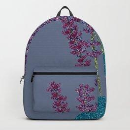 Lavender stems (bluegrey) Backpack