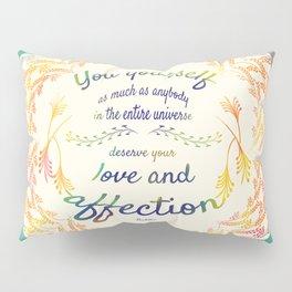 Buddha Quote Pillow Sham