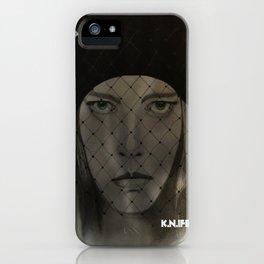 Mystery Girl iPhone Case