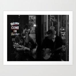 Music City Buskers Art Print