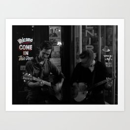 Music City Buskers Art Print