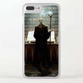 The secrets of darkest magic Clear iPhone Case