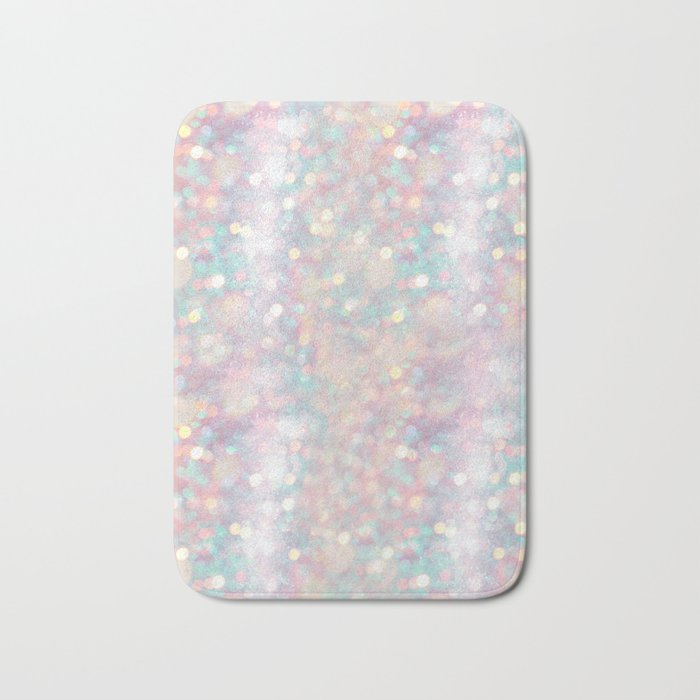 Glitter shiny background Bath Mat