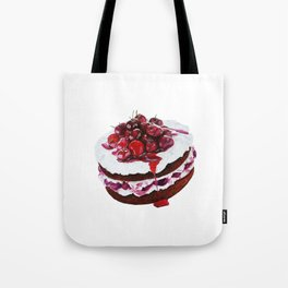 Cake with fruits Tote Bag