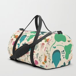 Sea creatures 003 Duffle Bag